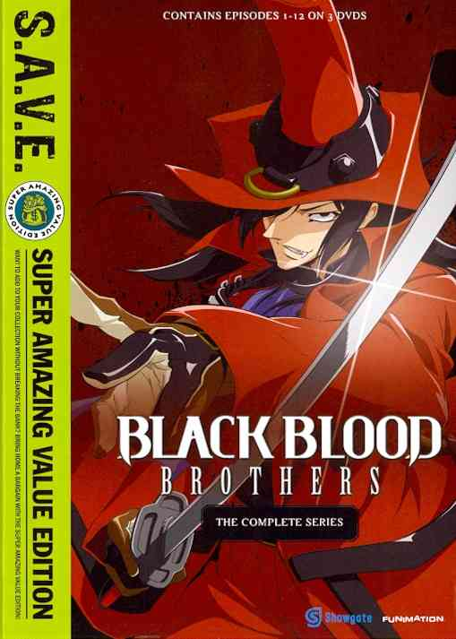 BLACK BLOOD BROTHERS:COMP SER SAVE BY BLACK BLOOD BROTHERS (DVD)